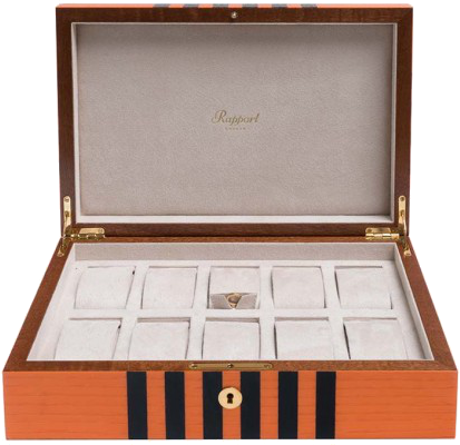 Rapport - Labyrinth Watch Box - Orange | L443