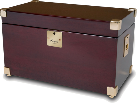 Rapport - Captain's Double - Mahogany w Brass | W272