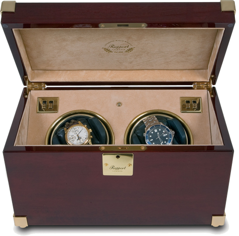 RAPPORT - Captain's Double Watch Winder | W272