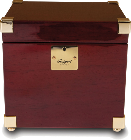 Rapport - Optima Captain's Single - Mahogany w Brass | W271