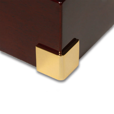 Rapport - Captain's Single - Mahogany w Brass | W271