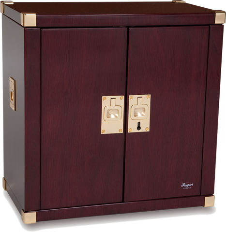 Rapport - Mariner's Chest Double - Mahogany w Brass | W282