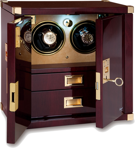 Rapport - Optima Mariner's Chest Double - Mahogany w Brass | W282