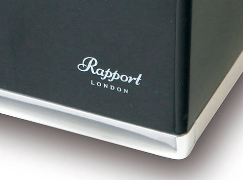 Rapport - Optima Double - Ebony w Aluminium | W262
