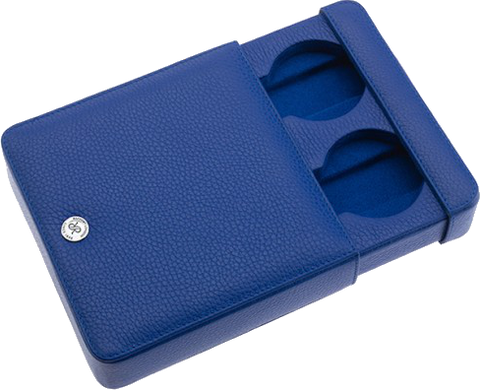 Rapport - Double Watch Slipcase - Blue Leather | D173