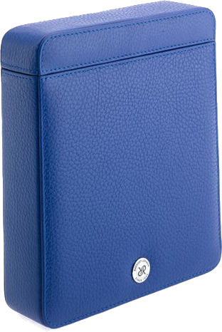 Rapport -Double Watch Slipcase - Blue Leather | D173