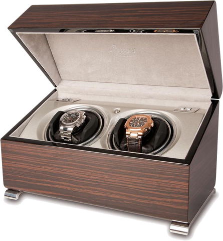 Macassar Double Rapport Watch Winder