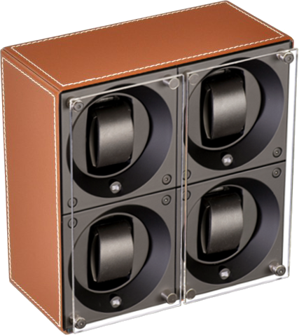 Swiss Kubik - MasterBox 4-Unit Leather | SK04.CV002 - WP