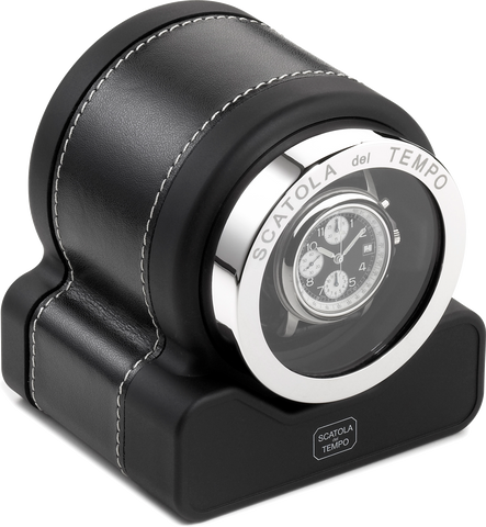 Black Scatola del Tempo Watch Winder