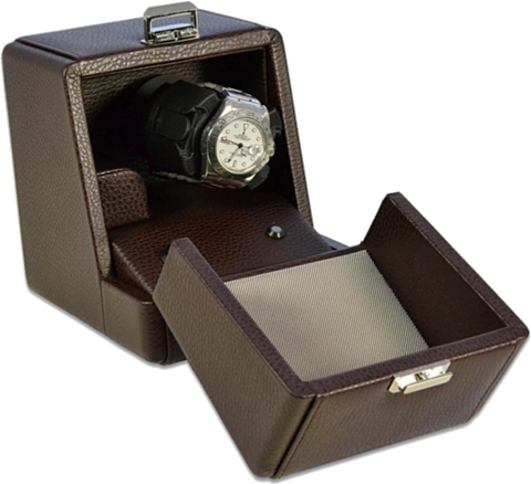 Brown Scatola del Tempo Watch Box