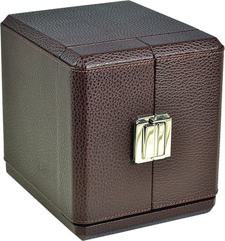 Dark Brown Luxury Scatola del Tempo Watch Winder