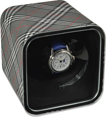 Scatola del Tempo - BE1 Tartan - Grey