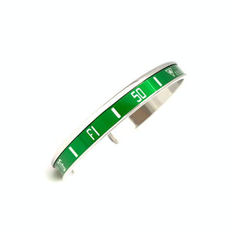 Speedometer Official - Steel Bangle | Green
