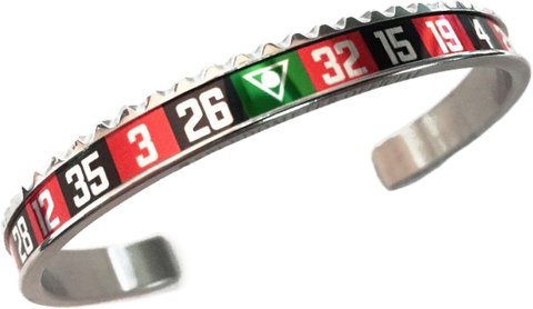 Speedometer Official - Casino Bangle | Steel