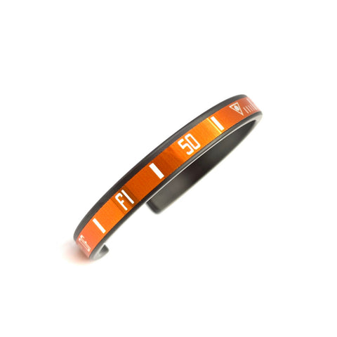 Speedometer Official - DLC Bangle | Orange
