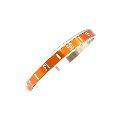 Speedometer Official - Steel Bangle | Orange
