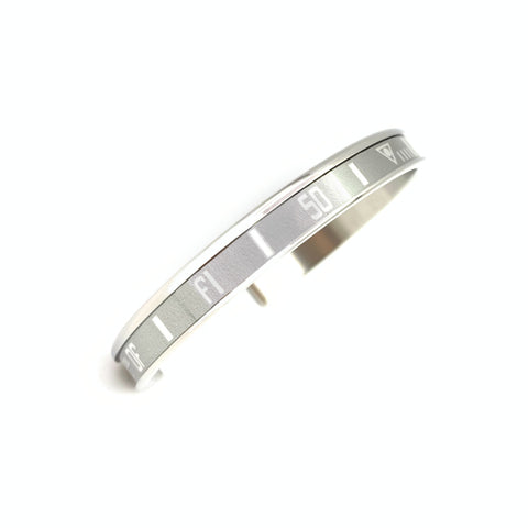 Speedometer Official - Steel Bangle | Grey