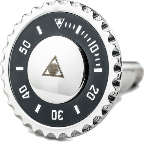 Speedometer Official - Steel Cufflinks | Black