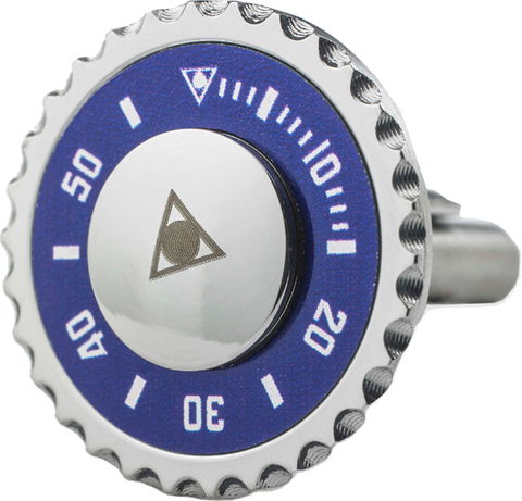 Speedometer Official - Steel Cufflinks | Blue