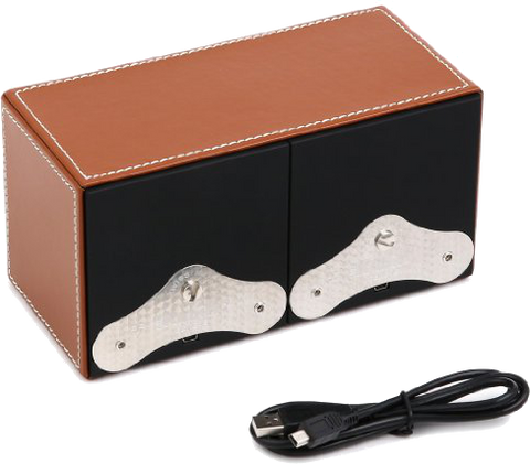 Swiss Kubik - MasterBox 2-Unit Leather | SK02.CV002