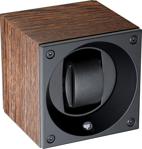 Natural Wood Swiss Kubik Watch Winder