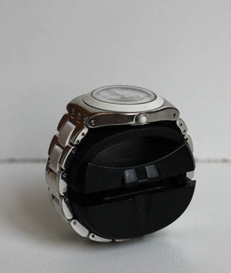 Swiss Kubik - 4 Leather - Black w White Stitch | SK04.CV001