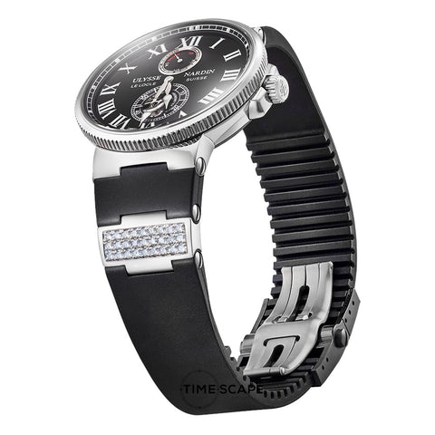 Diamond & Sterling Silver | Watch Strap Insert
