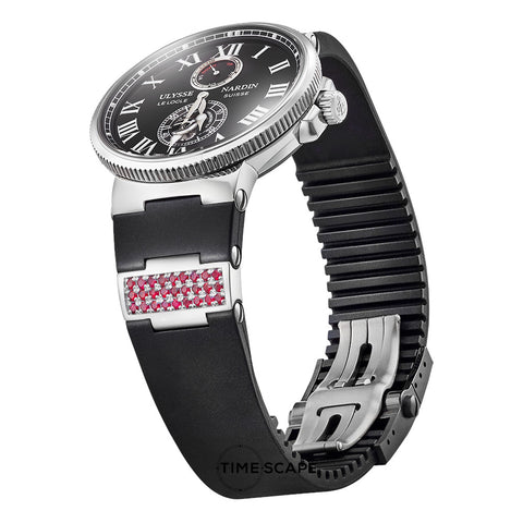 Ruby & Sterling Silver | Watch Strap Insert