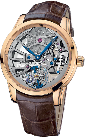 Ulysse Nardin - Skeleton Tourbillon Manufacture | 1706-129