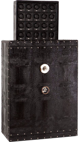 Underwood - 25 Module Armour-Plated Safe - Leather | UN855/L