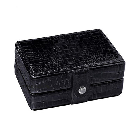 UNDERWOOD (LONDON) - Double Croco Watch Box | UN215/CBLK