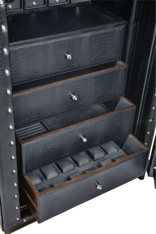 UNDERWOOD (LONDON) - Classic Leather 40-Unit Armour-Plated Safe | UN852/L