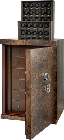 UNDERWOOD (LONDON) - Concealed Briarwood 50-Unit Armour-Plated Safe | UN856/BR