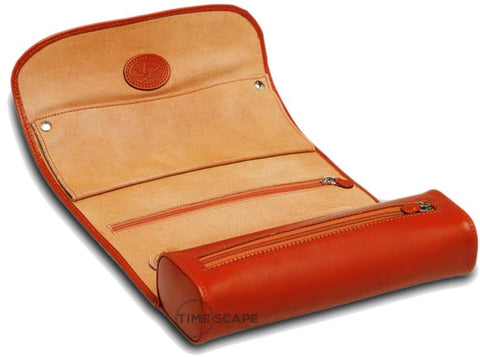 UNDERWOOD (LONDON) - Leather Jewelry Roll | UN208/TAN