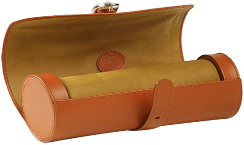 UNDERWOOD (LONDON) - Medium Leather Watch Roll | UN204/TAN