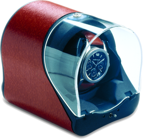 Red Rotogalbe Underwood Leather Watch Winder