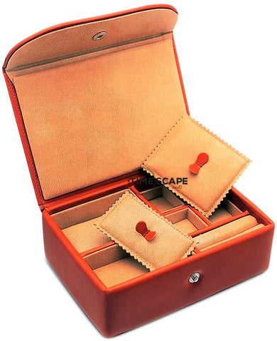 UNDERWOOD (LONDON) - Small Leather Watch & Jewelry Box | UN216/TAN