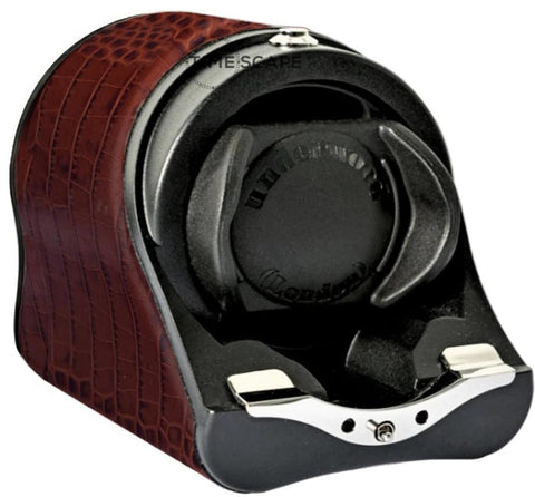 UNDERWOOD (LONDON) - Rotogalbe Croco Single Watch Winder | UN880/CBRW
