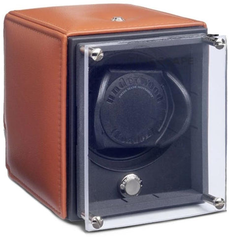 UNDERWOOD (LONDON) - EvO Leather Single Watch Winder | UN9005/TAN