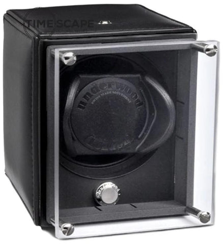 UNDERWOOD (LONDON) - EvO Leather Single Watch Winder | UN9005/BLK