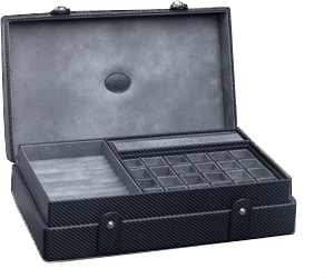 sc 1 st  TimeScape USA & Underwood - Multi Storage Case with Tray - Carbon | UN5212/CF