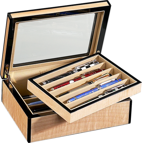 Venlo - 10 Pen Storage Case | Blonde