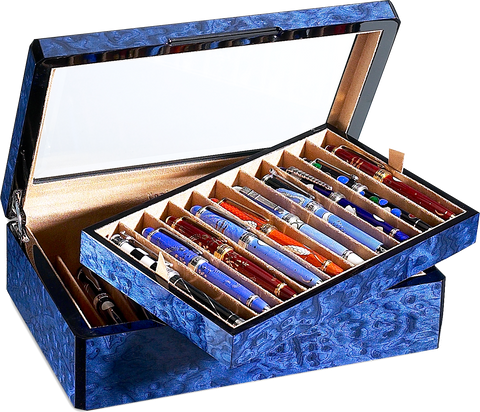 Venlo - 20 Pen Storage Case | Blue