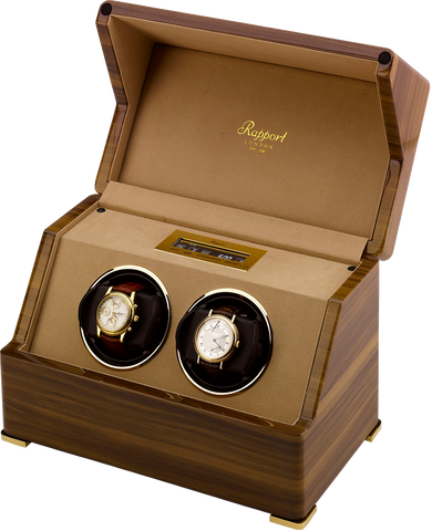 RAPPORT - Perpetua 3 Double Watch Winder | W582