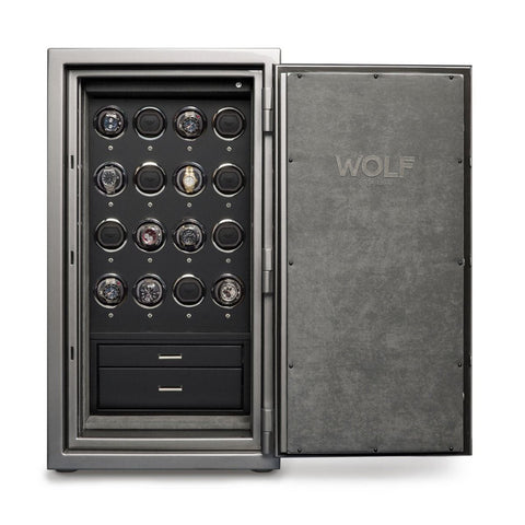 Wolf - 1834 Atlas 16-Unit Watch Winder Safe | 491665