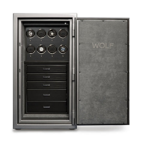 Wolf - 1834 Atlas 8-Unit Watch Winder Safe | 491865