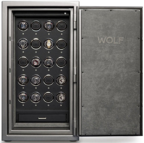 Wolf - 1834 Atlas 20-Unit Watch Winder Safe | 492065