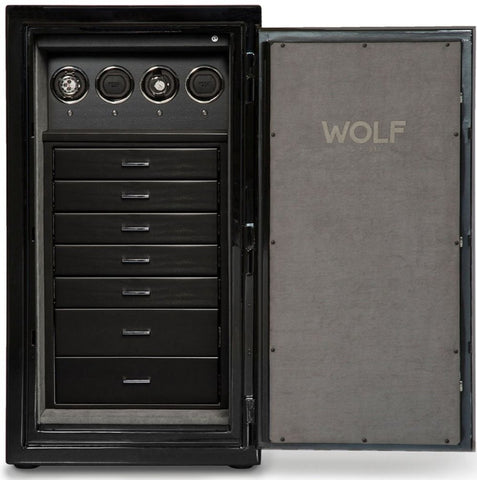 Wolf - 1834 Atlas 4-Unit Watch Winder Safe | 490464
