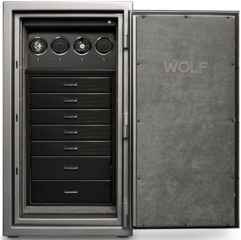 Wolf - 1834 Atlas 4-Unit Watch Winder Safe | 490465