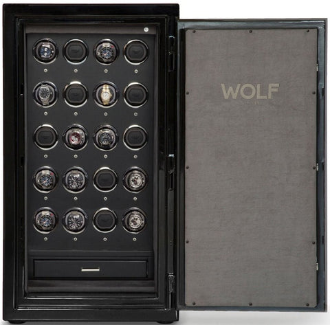 Wolf - 1834 Atlas 20-Unit Watch Winder Safe | 492064